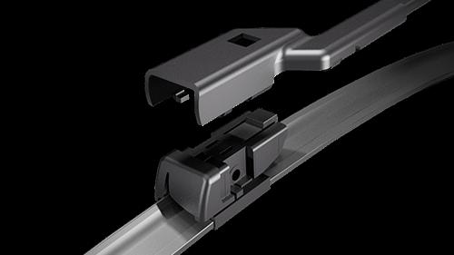 Mocowanie wycieraczki szyby samochodowej
